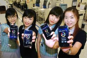 Companies Asia DoCoMo SmartPhone GalaxyS