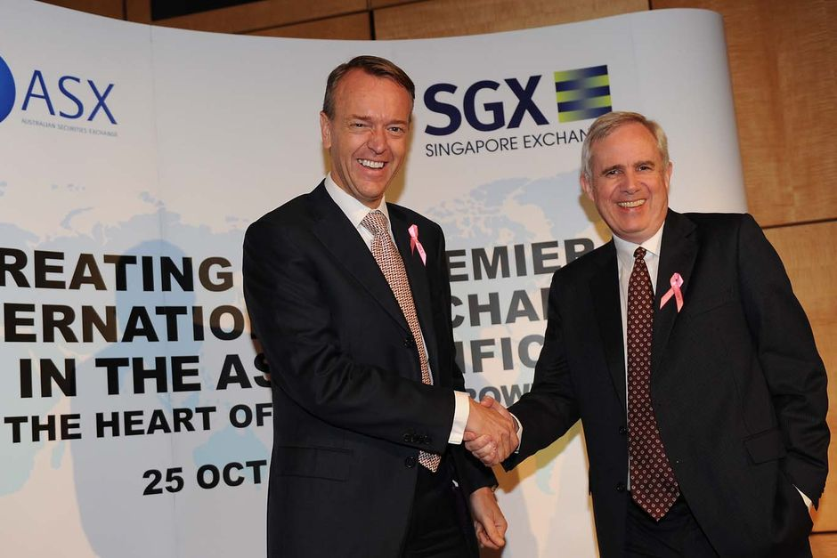 Singapore Stock Exchange's $8.4 Billion Bid For Australia's Bourse